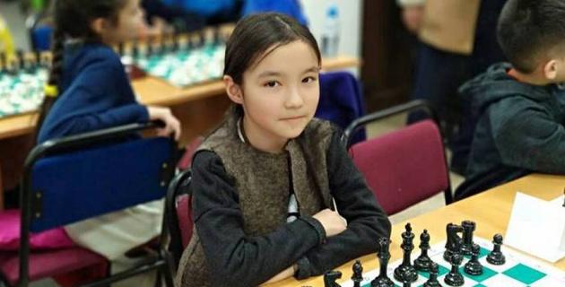 На пьедестале меня охватила гордость за Казахстан - 11-летняя чемпионка мира по шахматам