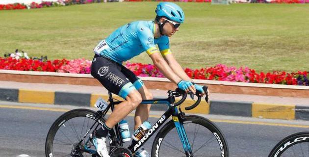 """Кангерт показал лучший результат из гонщиков """"Астаны"""" на втором этапе """"Джиро д'Италия"""""""