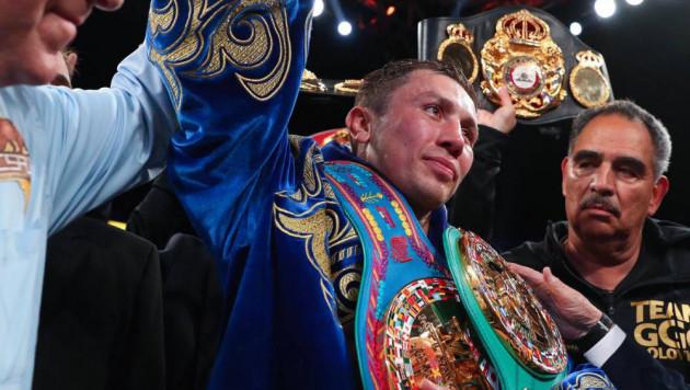 Головкин обратился к казахстанцам после досрочной победы над Мартиросяном