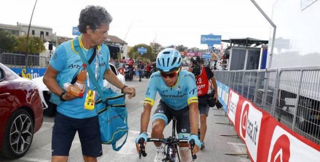"""Лопес показал, что подходит к своей лучшей форме от этапа к этапу на """"Джиро"""" - спортивный директор """"Астаны"""""""