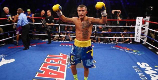Ломаченко побывал в нокдауне, но нокаутировал Линареса и выиграл титул чемпиона WBA в легком весе