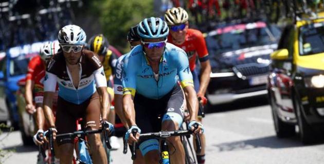"""Было важно иметь гонщика в отрыве для защиты наших интересов - Виллелла из """"Астаны"""" о восьмом этапе """"Джиро"""""""
