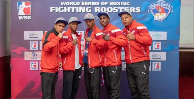 """Кубинские боксеры одержали волевую победу над """"Франс Файтинг Рустерс"""" в первом полуфинале WSB"""