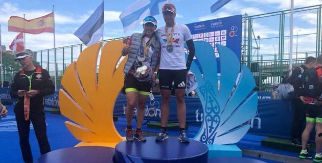 После такого триумфа хочется только побеждать - победительница второго этапа Кубка Казахстана по триатлону