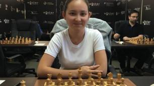 Казахстанская шахматистка победила на турнире в Испании и вплотную приблизилась к ТОП-15 мирового рейтинга
