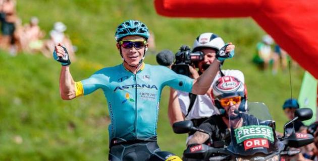 """Капитан """"Астаны"""" сократил отставание от лидера """"Джиро д'Италия"""" после 18-го этапа"""