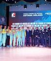 """Боксеры """"Астана Арланс"""" одержали досрочную победу над """"Бритиш Лайнхартс"""" и вышли в финал WSB"""