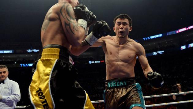 24-летний казахстанец Сабиров решением победил в андеркарте вечера бокса в Канаде