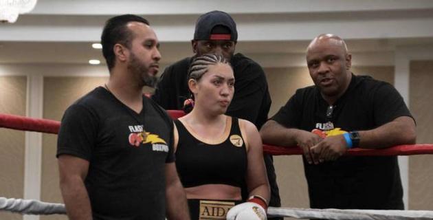 Казахстанская девушка-боксер Сатыбалдинова анонсировала свой следующий бой на профи-ринге