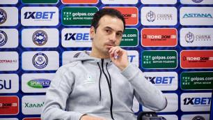 """Тренер """"Астаны"""" попросил для усиления качественных футболистов на примере """"Манчестер Сити"""""""