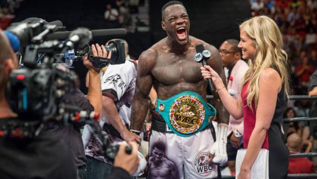 Чемпион WBC в супертяжах Уайлдер заявил о планах сменить весовую категорию