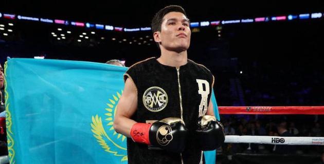 Данияр Елеусинов впервые в профи выиграл решением судей