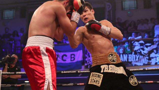 Видео полного боя, или как Данияр Елеусинов одержал вторую победу в профи