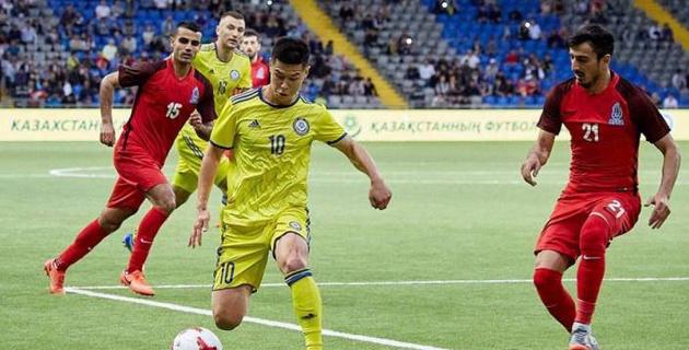 Крупное поражение в Астане не помешало Азербайджану обойти Казахстан в рейтинге ФИФА