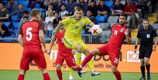 Сборная Азербайджана после разгрома в Астане обыграла соперника Казахстана по Лиге наций