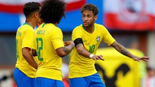 """Гол Неймара в """"домик"""" вратарю помог Бразилии разгромить Австрию в последнем матче перед ЧМ-2018"""