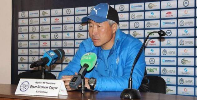 """""""Иртыш"""" официально объявил о возвращении Садуова на должность главного тренера"""