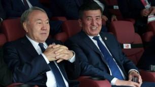 Как Назарбаев смотрел матч открытия ЧМ-2018 по футболу