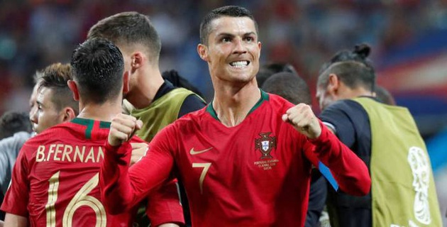 Хет-трик Роналду спас Португалию от поражения в матче с Испанией на ЧМ-2018