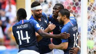 Сборная Франции вырвала победу над Австралией в матче ЧМ-2018 с двумя пенальти