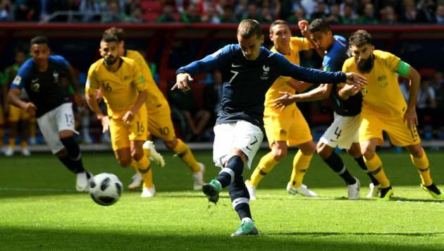Гризманн впервые в карьере забил на чемпионате мира