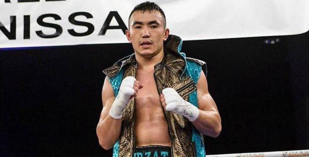 24-летний непобежденный казахстанец выиграл седьмой бой на профи-ринге