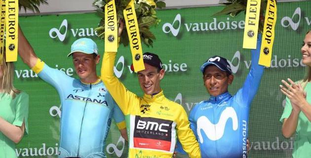 """Капитан """"Астаны"""" занял второе место в общем зачете в последней многодневке перед """"Тур де Франс"""""""