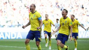 Шведы выпросили пенальти и стартовали с победы на чемпионате мира-2018