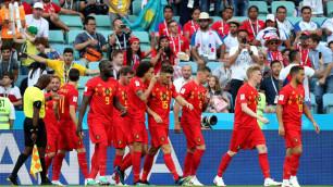 Сборная Бельгии разгромила дебютанта и стартовала с победы на ЧМ-2018