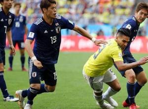 Сборная Колумбии осталась в меньшинстве на третьей минуте и проиграла Японии в матче ЧМ-2018