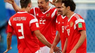 Сборная России по футболу выйдет в плей-офф ЧМ-2018 после матча Уругвай- Саудовская Аравия  - букмекеры