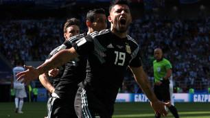 Букмекеры оценили шансы Аргентины и Хорватии на победу в матче второго тура ЧМ-2018 по футболу