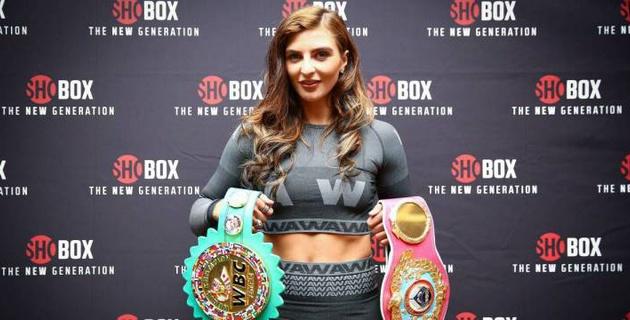 Уроженка Казахстана защитила титулы WBC и WBO на профи-ринге