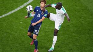 Япония дважды отыгралась и ушла от поражения в матче с Сенегалом на ЧМ-2018