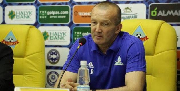 """Тренер """"Астаны"""" прокомментировал волевую победу над """"Кайратом"""" и отсутствие Твумаси"""