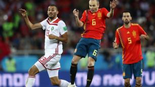 Гол пяткой на 93-й минуте спас Испанию от поражения и принес выход в плей-офф ЧМ-2018 с первого места