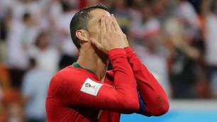 Роналду не забил пенальти в матче ЧМ-2018 и вошел в историю