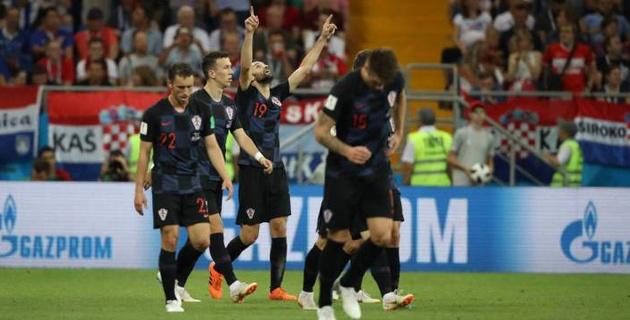 Хорватия выиграла третий подряд матч на ЧМ-2018 и отправила Исландию домой