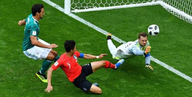Сборная Германии сенсационно вылетела с ЧМ-2018 по футболу