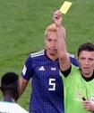 Впервые в истории чемпионатов мира по футболу судьбу места в плей-офф решили желтые карточки