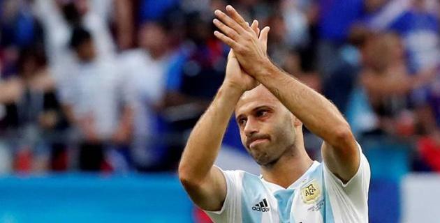 Аргентинский полузащитник объявил об уходе из сборной после вылета от Франции на ЧМ-2018