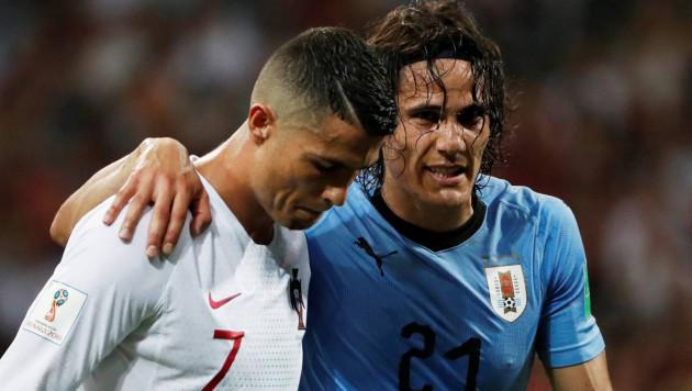 Дубль Кавани вывел Уругвай в четвертьфинал ЧМ-2018 и отправил Португалию домой