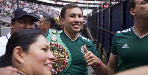 Геннадий Головкин поддержал сборную Мексики после вылета с ЧМ-2018 по футболу