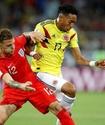 Колумбийcкого футболиста уличили в грязном приеме в матче ЧМ-2018 против Англии
