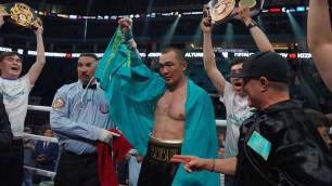 Шуменов рассказал о переговорах с боксером из зала Головкина перед встречей с Гассиевым или Усиком