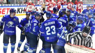"""""""Барыс"""" и еще восемь команд из Казахстана вошли в рейтинг лучших хоккейных клубов Европы"""