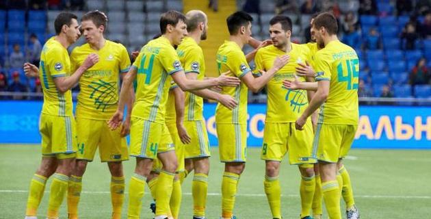 """Букмекеры назвали наиболее вероятный счет в первом матче """"Астаны"""" в Лиге чемпионов"""