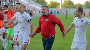 Команда казахстанского тренера за 19 минут победила участника группового раунда ЛЧ