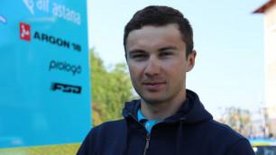 """Рад, что в первой же гонке после """"Джиро"""" удалось победить - Луценко о """"Туре Австрии"""""""