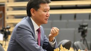 Президент FIDE Кирсан Илюмжинов отстранен от должности